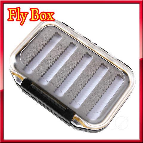 FLY BOX フライケース 防水タイプ 透明蓋 フライボックス スリットフォーム