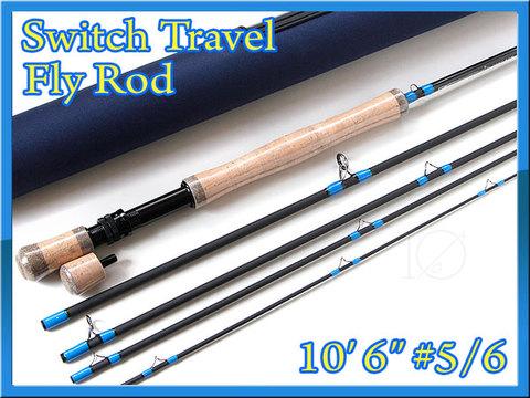 フライロッド #5/6 スイッチロッド switch travel rod