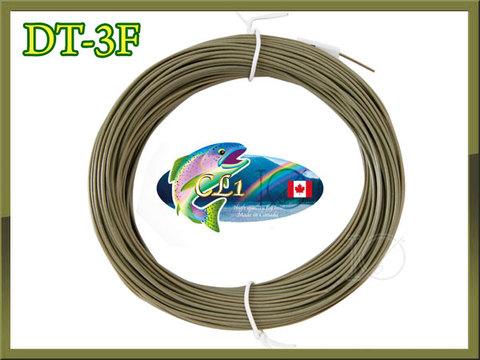 【イオ】フライライン DT-3F Olive Green フローティング CL カナダ製