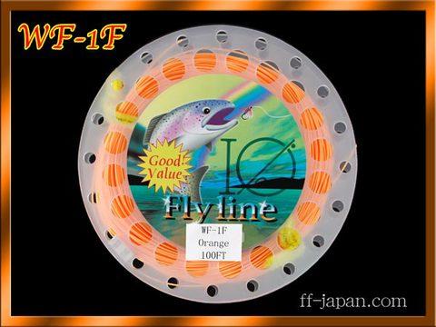【イオ】フライライン WF-1F orange Fly line フローティング