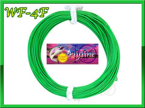 【イオ】 フライライン WF-4F Green 緑色 Fly Line フローティング 両端ループ付き