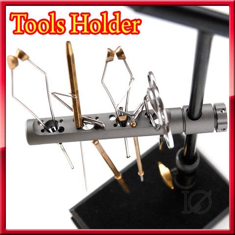 フライ バイス用ツールホルダー Tools Holder マシンカットアルミ マットガンスモーク