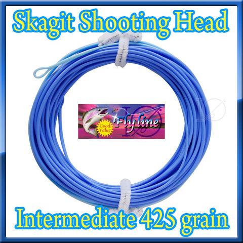 【イオ】 スカジット シューティングヘッド Skagit 425grain インターミディエイト blue