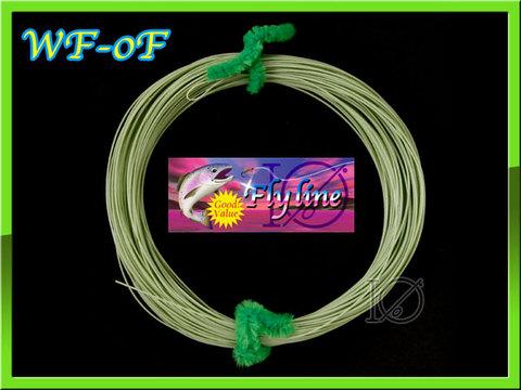 イオ】フライライン WF-0F moss Green フローティング Fly Line