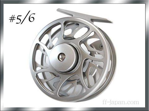 フライリール #5/6 マシンカット強力ディスクドラグ
