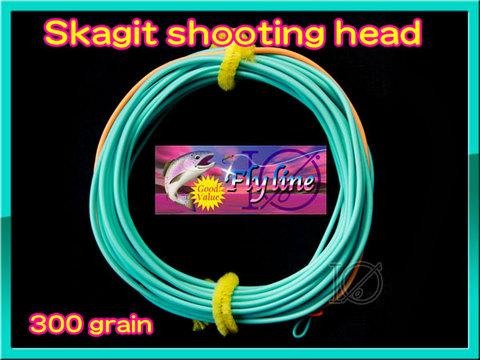 【イオ】スカジット シューティングヘッド Skagit 300 grain
