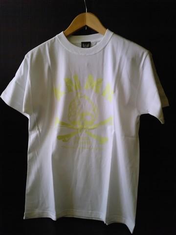 キン肉マンTシャツ  【フェイスフラッシュ】-WHITE-