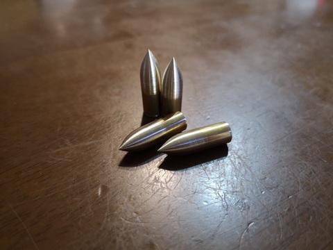 19年式 9mmブラス尖鋭弾(SP-19B)