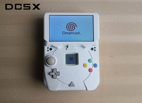 謎のドリームキャスト手作り改造携帯ゲーム機「DCSX」
