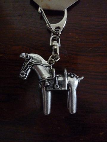 馬埴輪キーホルダー(真鍮製)