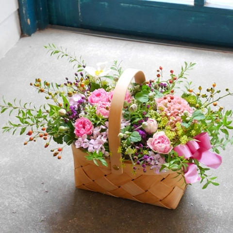 basket of season flower(M)