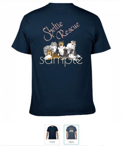 シェルレス公式Tシャツ2020夏(紺)