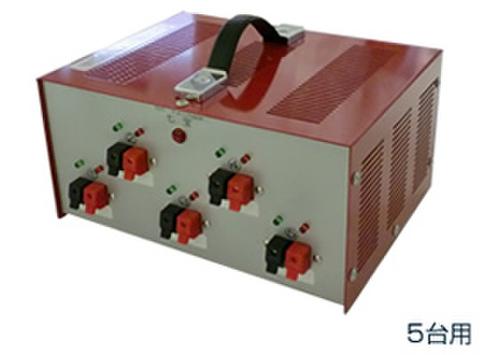 バッテリー管理器SA125M(12V×5台用)