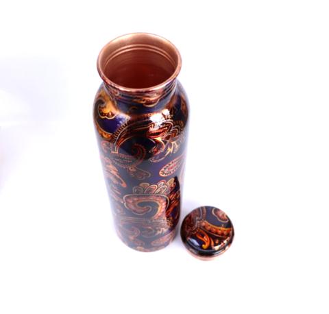 銅の水筒(紺色)