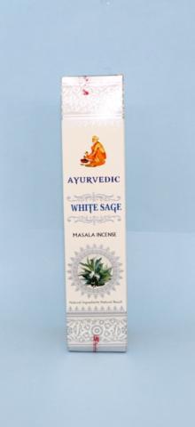 ホワイトセージのアーユルヴェーダお香