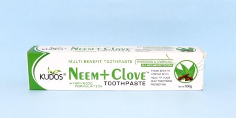 ニーム&クローブ歯磨き粉