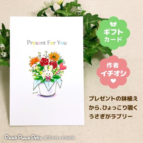 ポストカード【Present For You】