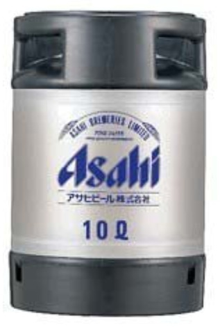 交換用 アサヒスーパードライ<樽生10L>【1本】