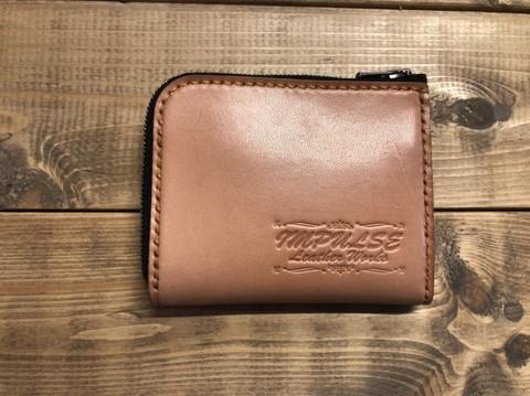 L字ファスナーミニ財布
