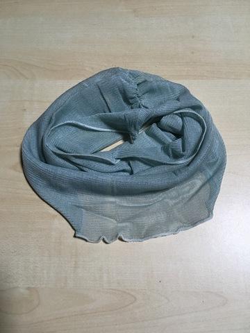 藍生葉染め・シルクネックカバー