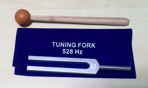528 Hz MI DNA Repair Tuning Fork (インド製)