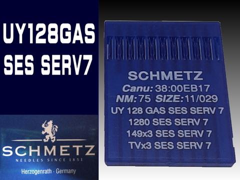 シュメッツミシン針 UY128GAS SES SERV 7