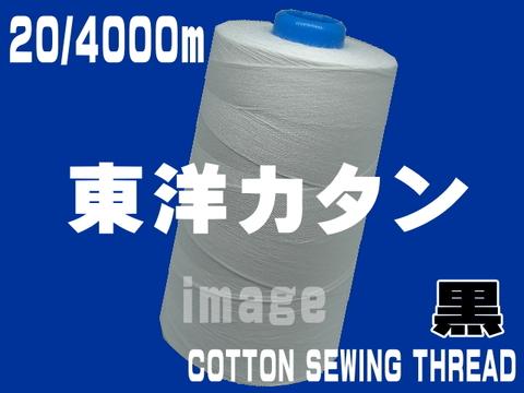 20/4000m東洋カタン糸(黒)