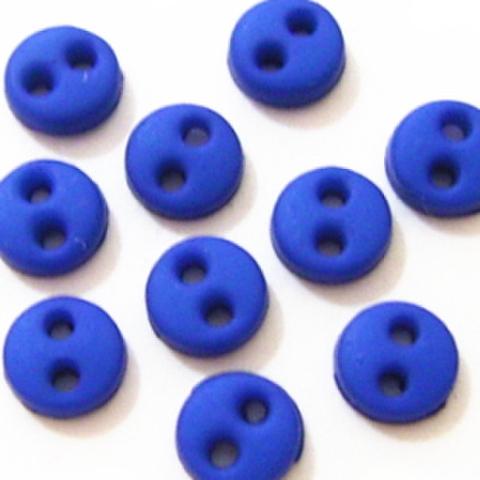 ミニボタン4ミリ(濃いめの青)