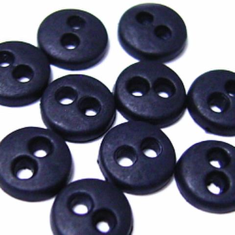 ミニボタン6ミリ(黒)