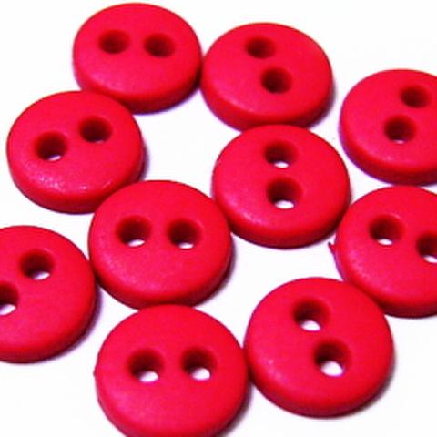 ミニボタン6ミリ(赤)