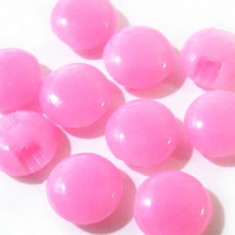 マーブルボタン【平丸】8ミリ(桜色)