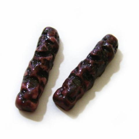 【デコパーツ】小枝チョコスティック2本入り