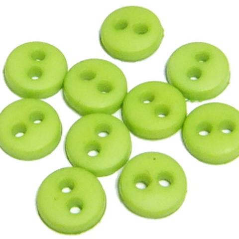 ミニボタン6ミリ(黄緑)