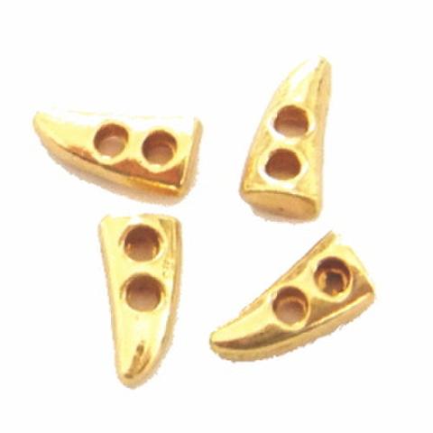 ダッフルボタン【つのmini】4ヶセット(ゴールド)