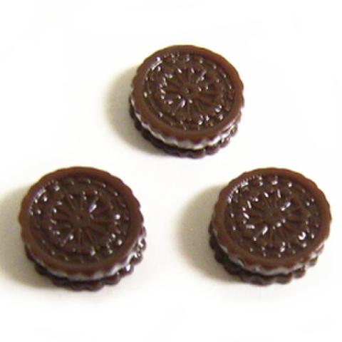 【デコパーツ】ちびちびオレオクッキー3ヶセット