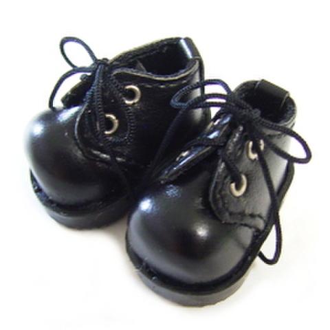 おでこショート靴(黒)