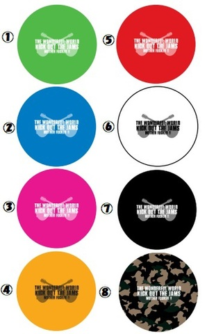 【予約】TWFW KICK OUT JAMS BADGE SET