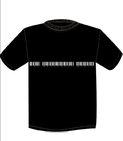 NEW TWFW バーコード Tシャツ ブラック