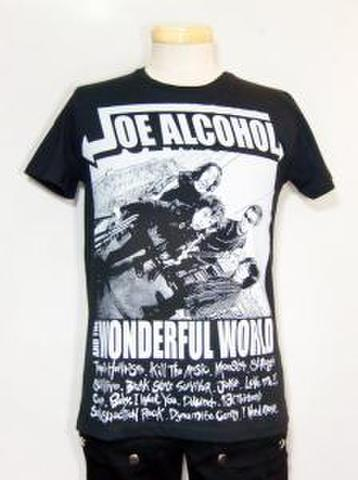 JA&TWFW PORTRAYAL T SHIRT BLACK