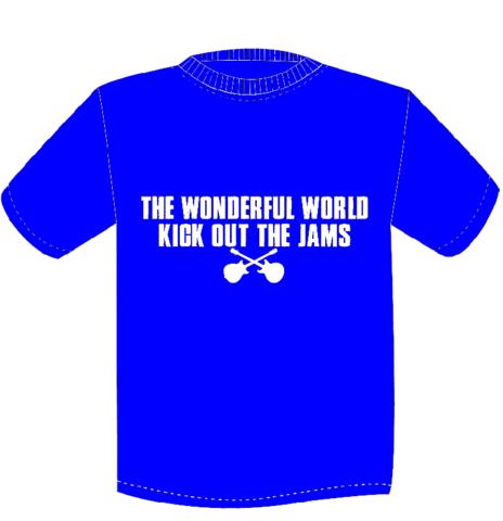 TWFW KICK OUT JAMS Tシャツ BLUE