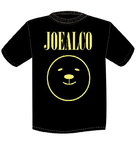 JOEALCO KUMA Tシャツ ブラック