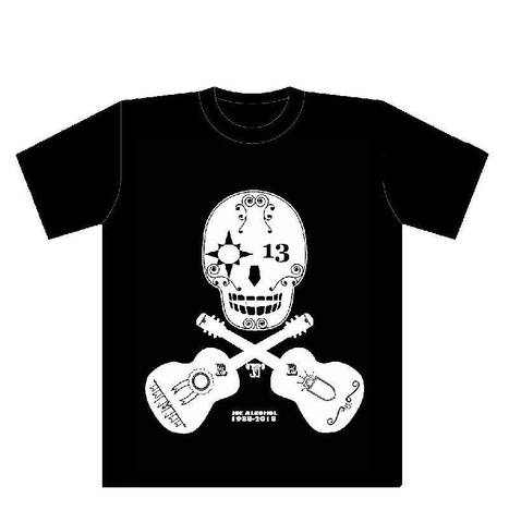 JOE ALCOHOL 30th aniversary NEW SKULL Tシャツ ブラック