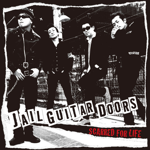 特典付「JAIL GUITAR DOORS」SCARRED FOR LIFE CD