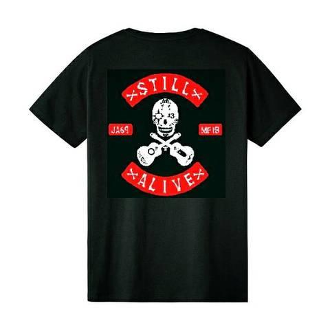JOE ALCOHOL STILL ALIVE2021 Tシャツ(半袖)ブラック