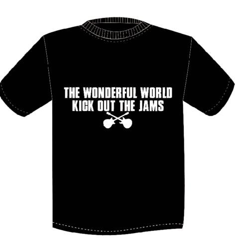 TWFW KICK OUT JAMS Tシャツ BLACK