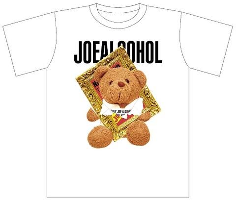 【予約】JOE ALCOHOL KUMA Tシャツ(半袖)ホワイト
