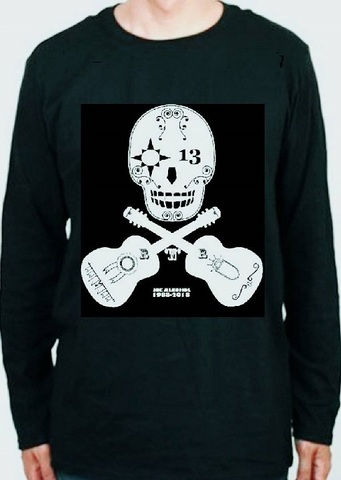JOE ALCOHOL 30th aniversary NEW SKULL ロンT ブラック