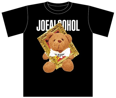 【予約】JOE ALCOHOL KUMA Tシャツ(半袖)BLACK