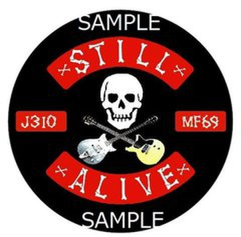 STILL ALIVE STICKER