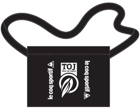 TOJ × le coq sportifコラボサコッシュ<ブラック>